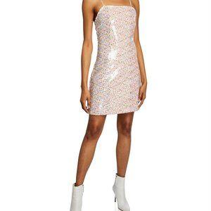 Endless Rose XS confetti sequin mini dress